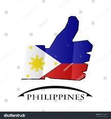 Flag Philippines Picture Like Icon Made Flag Philippines Stock Vector 541537630 Shutterstock