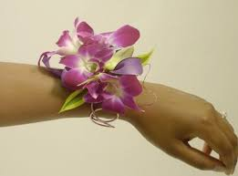 cool purple wrist corsage martin u0027s the flower people