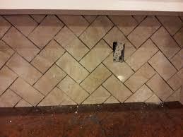 tumbled marble herringbone pattern gorgeous limestone
