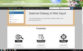 membuat website bootstrap membuat web dengan bootstrap versi 3 part 4 tekno web