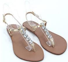 Rhinestone Flat Sandals Wedding 20 Best Shoes U0026 Footwear Images On Pinterest Shoes Summer