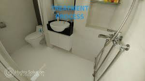 Bathroom Waterproofing Flood Infusion Waterproofing Hydro Solution Waterproofing