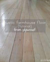 Affordable Flooring Options Pinterest Plywood Wide Plank And Plank