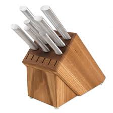 essential kitchen knives essential oak block set rada kitchen store
