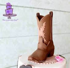 cowboy cake topper girly western birthday cake plus cowboy boot topper pictorial
