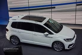 volkswagen minivan 2016 2016 volkswagen touran debuts class leading mpv technologies in