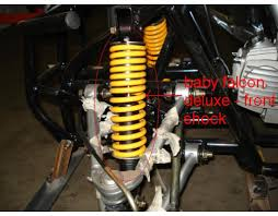 front shock absorber deluxe kazuma for falcon 110 cc deluxe