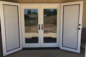Secure French Doors - replacement windows vinyl windows home windows titan security doors