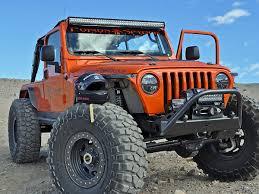 light bar jeep 1997 2006 jeep tj rigid roof mount kit 40137