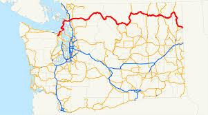 Washington State Mountains Map by Washington State Route 20 Wikipedia