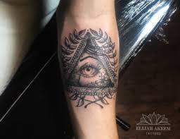 all seeing eye by elijahakeemtattoos on deviantart