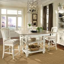 Coventry Dining Table Riverside Furniture Coventry Two Tone Dining Table In Dover White