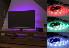 Led Light Strip Kits by Rgb Led Strip Usb Colour Changing Lighting Kit 50cm Tv Pc Ps4