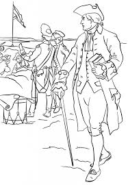 Nathan Hale America War Coloring Page History Free Download Yankee Doodle Coloring Page 2