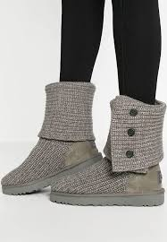 s cardy ugg boots grey ugg cardy winter boots grey zalando co uk