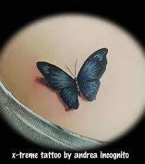 blur butterfly by andrea incognito tattoos