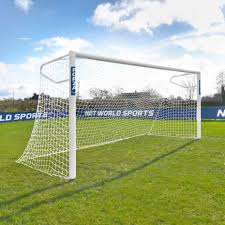 mini soccer goals in steel and aluminum net world sports
