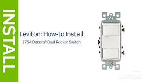 leviton presents how to install a decora combination device with