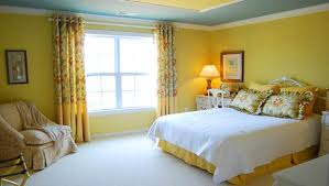 Best Colors For Bedrooms Bright Paint Colors For Bedrooms Blue Wall Paint Yellow Curtains
