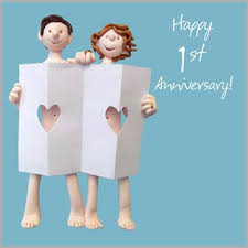 1st wedding anniversary card co uk kitchen home