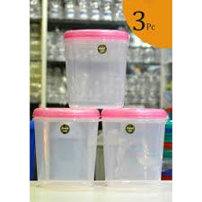 cabinet plastic container for kitchen storage air tight jars