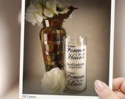 Vases With Floating Candles Floating Candle Vase Etsy