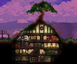 Terraria How To Make A Bed Terraria Hobbit Hole House Design Gaming