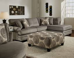 Recliner And Chaise Sofa by Living Room Stonenesse Grey Fabricectionalofa Coasterteal Gray