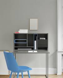 contemporary secretary desk lacquered wood mdf sb14 nota by