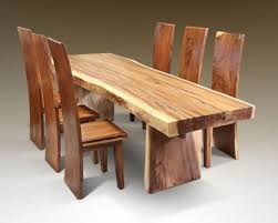 Rustic Wood Dining Room Sets Chair Height Dining Room Set Table Chair Dinette Furniture Rustic