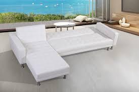 canapé simili blanc blanc canapés d angle salon salle à manger
