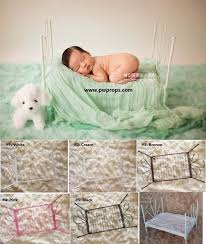 Newborn Photo Props Aliexpress Com Buy Newborn Baby Photo Props Metal Bed Child