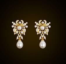 kempu earrings kundan earrings antique designer earrings south indain style