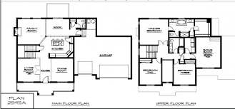 modern two story house plans uncategorized 3 bedroom double storey house plan modern within