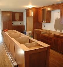 how to install a kitchen island kitchen island installation