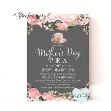 mother u0027s day invitation mother u0027s day tea party