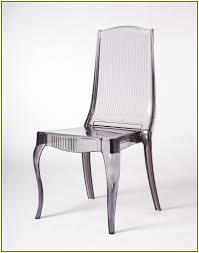 Acrylic Dining Chair Trendy Acrylic Clear Dining Chairs On Dining Room Design Ideas