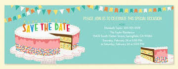 save the date birthday cards birthday party save the date invitations evite