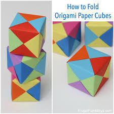 Origami Paper Works - paper cubes fb jpg