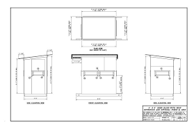 How To Make Sliding Windows For Deer Blind Please Critic My 4x6 Deer Blind Layout Plans Will Follow Later