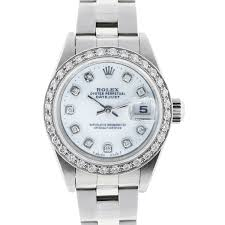 diamond rolex rolex 79174 datejust diamond bezel u0026 dial ladies watch