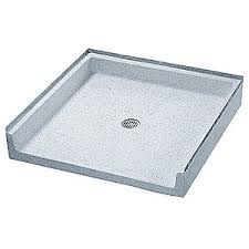 fiat products shower base terrazzo 36 in x 36 in 29ru42
