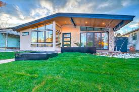 Midcentury Modern Home - custom build home tips guide to building a new mid century