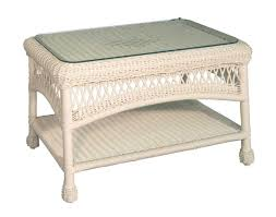 white wicker end table white wicker coffee table glass top diy modern furniture check