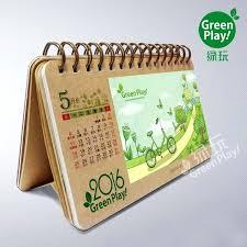 design your own desk calendar design desk calendar paper desk calendar with green design printed