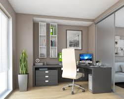Home Office Door Ideas by Enticing Home Office Sliding Door Feat L Shaped Gray Table And