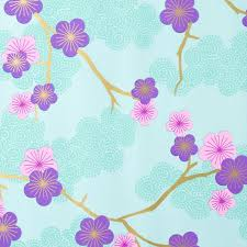 floral printed tissue paper wrap 17g glossy wrapping paper custom printing tissue paper on