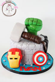 avengers cakes ideas cumple pinterest avenger cake and cake