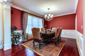Dining Rooms With Wainscoting Dining Room With Wainscoting U0026 Hardwood Floors In Bettendorf Ia