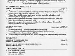 Caregiver Experience Resume 32 Sample Resume Of Caregiver Caregiver Jobs Example Of Caregiver